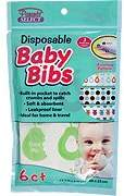 Parent's Choice Disposable Baby Bibs - Ideal For Home & Travel, 6 ct,(Parents Select)