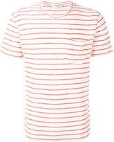 YMC striped T-shirt - men - Cotton/Polyester - S
