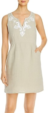 Tommy Bahama Dancing Diamond Linen Shift Dress