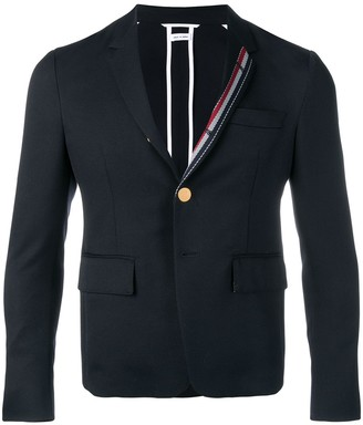 Thom Browne Rwb Stripe Unconstructed Sport Coat