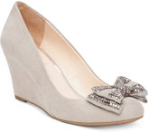 Jessica Simpson Selonia Embellished Bow Wedges