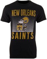 Junk Food Clothing Men's New Orleans Saints Block Shutter T-Shirt
