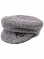 Thumbnail for your product : Ruslan Baginskiy Logo-Embroidered Baker Boy Hat