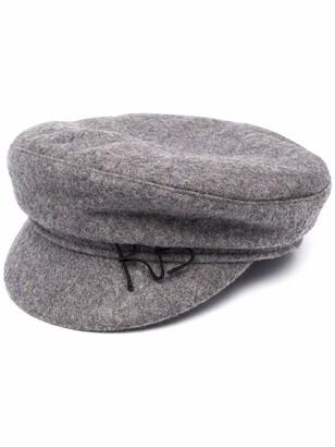 Ruslan Baginskiy Logo-Embroidered Baker Boy Hat