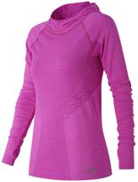 New Balance Women's M4M Seamless Running Hoodie