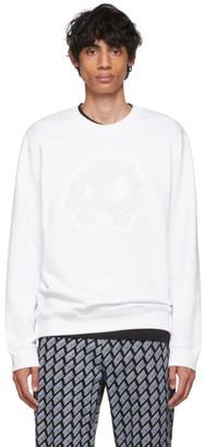 McQ White Padded Mad Chester Sweatshirt