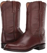 Lucchese Lawrence (Antique Brown) Men's Boots