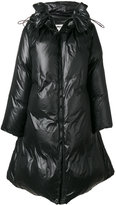 MM6 MAISON MARGIELA shiny padded coat