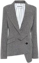 Monse Wool and silk-blend tweed blazer