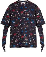 Balenciaga Oversized floral-print T-shirt