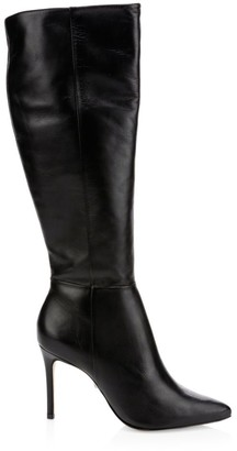 Schutz Magalli Knee-High Leather Boots