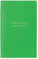 Smythson Ideas And Inspirations Leather Notebook