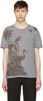 Valentino Grey Bird T-shirt