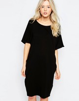 B.young Short Sleeve Jersey Dress