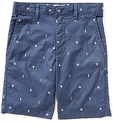 Class Club Big Boys 8-20 Nautical Print Shorts