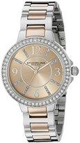 Stuhrling Original Women's 4803 Allure Two-Tone Stainless Steel Watch