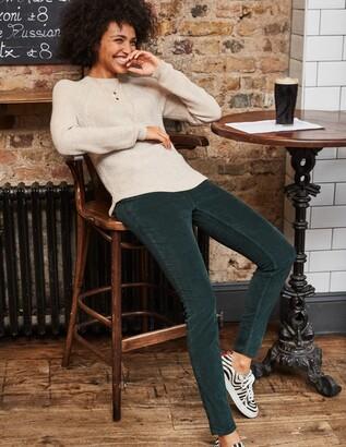 Boden Cord Slim Straight Jeans