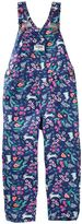 Osh Kosh Toddler Girl Flower & Bunny Print Twill Overalls