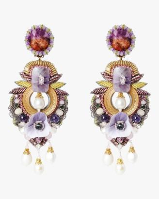 Ranjana Khan Alyssum Clip-On Earrings
