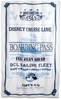 Disney Captain Mickey Mouse Beach Towel Cruise Line