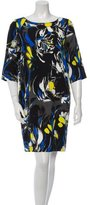 Fuzzi Printed Long Sleeve Dress w/ Tags