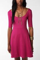 Sparkle & Fade Basic Knit Swing Dress