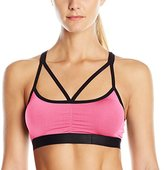 Flex Women's Microfiber Bralette with Strappy Front and Back Detail