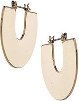 Topshop Flat Half Disc Earrings