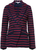 Veronica Beard striped fitted blazer