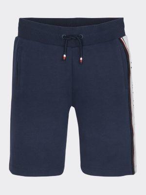 Tommy Hilfiger Intarsia Logo Drawstring Shorts