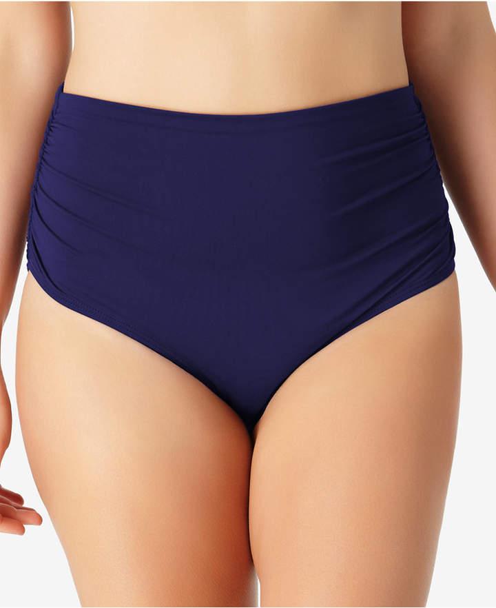 Anne Cole Plus Size Live In Color High-Waist Swim Bottoms Women Swimsuit
