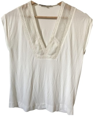Maje White Top for Women