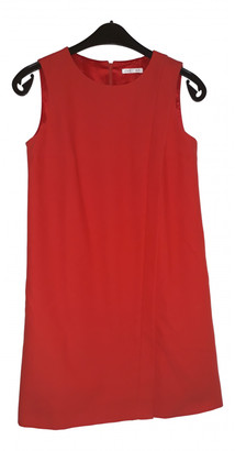 Paule Ka Red Cotton Dresses