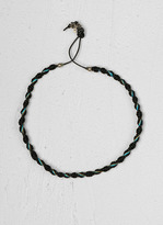 John Varvatos Woven Necklace
