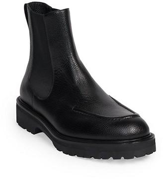Dries Van Noten Pebbled Rubber Boots