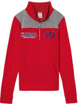 Victoria's Secret Victorias Secret University Of Kansas Perfect Quarter-Zip