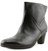 Gabor 35.610 Round Toe Leather Ankle Boot.