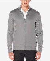Perry Ellis Men's Big & Tall Fleece Jacquard Jacket