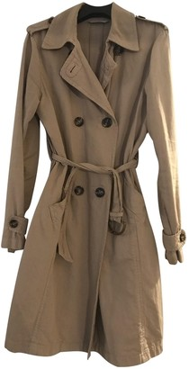 Marella Beige Cotton Trench Coat for Women