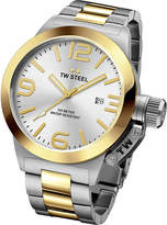 TW Steel CB31 Canteen steel and yellow gold watch