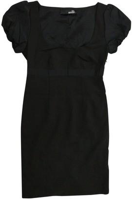Moschino Love Black Wool Dress for Women
