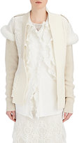 Burberry X Barneys New York Women's Shearling-Trimmed Wool-Cashmere Cardigan