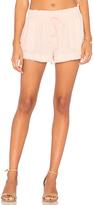 Bella Dahl Easy Flow Short in Pink. - size XS (also in )