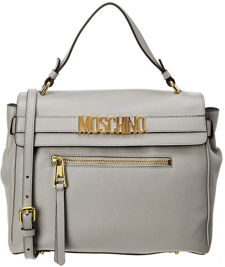1c87f0e3a1 Moschino Leather Tote Bags - ShopStyle