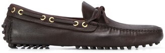 Car Shoe Bow Detail Loafers
