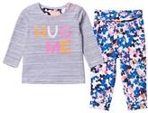 Joules Hug Me Tee and Floral Leggings Set