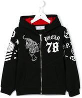 Philipp Plein 'Blackjack' hoodie - kids - Cotton - 8 yrs