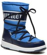 Moon Boot Kids's WE Sport Jr Lace-up Boots in Blue