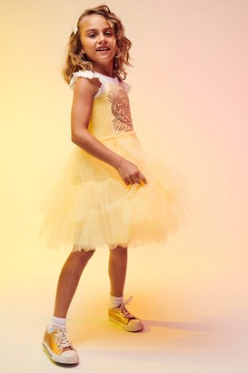 Cotton On Disney Belle Iris Tulle Dress