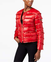 MICHAEL Michael Kors Ruffled Puffer Jacket, a Macy's Exclusive Style